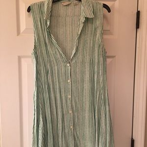 11.1 Tylo Green Stripped Tunic